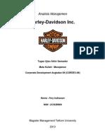 Analisis Perusahaan Harley-Davidson