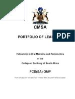 Fcd(Sa) Omp Portfolio 24-3-2014