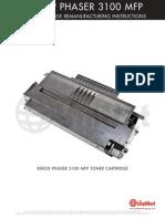 Xerox Phaser 3100 MFP Reman Eng