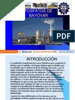 FOSFATOS DE BAYÓVAR-