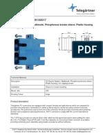 J08081A0017 - Telegartner SC-SC optička spojnica Duplex