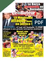 Journal Le Buteur Du 24-03-2014