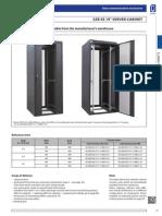 ZPAS SZB SE 19in Server Cabinet