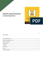 Corporate Design Manual English