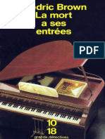 eBook Frederic Brown - La Mort a Ses Entrees