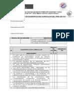 LISTA DE COTEJO - PROGRAMACI+ôN CURRICULAR