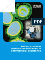 Regional Strategy on Prevention and Containment of Antimicrobial Resistance 2010-2015