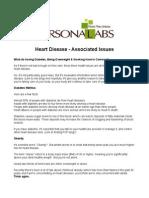 Heart Disease - Associated Issues