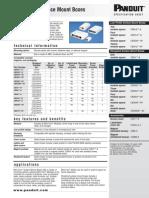 Mini-Com® CBX - Surface Mount Boxes
