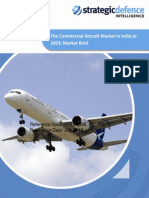 22407941 the Commercial Aircraft Market in India to 2023 Market Brief