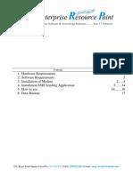 SMS Setup Manual