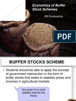 Market Price 6 Buffer Stocks Scheme