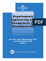 1. Requirements Engineering and Management for Manufacturing