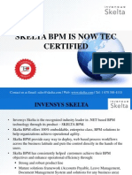 Embeddable BPM software TEC Certified