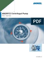 Hy-Andritz Centrifugal Pump Iso