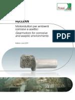 Catalog HyClean Gearmotors
