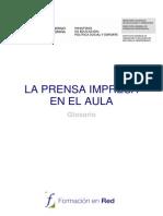 Prensa Impresa Glosario