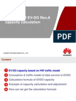 Guidance of Capacity Calculation in EV-DO Rev.A