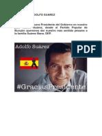 Fallece d. Adolfo Suarez