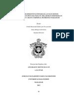 Analisis Efektivitas Pengelolaan Dan Sistem Pengendalian Piutang Pada Pt. Pelabuhan Indonesia IV (Persero) Cabang Terminal Petikemas Makassar