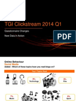 Clickstream Q1 2014