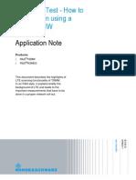Application Note of Scanner TSME