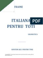 Carte Italiana GRAMATICA-Dorin