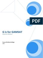 Points for Writing the Reflective Essay in GAMSAT Imhoff Custom Services