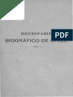 Chile, Diccionario Biografico, Tomo 3