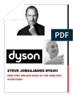 steve jobs and james dyson