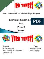 Verb Tense Spp t