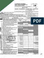 Picower Foundation -- 2002 Tax Return Part 1