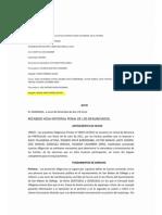 2013-12-11 Auto Juzgado 12 Concejales Socialistas Subrayado