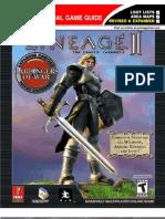 Lineage II - Prima Game Guide 2004