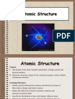 Chap 1 Atomic Structure