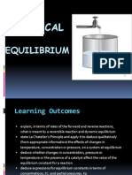Chapter 7 Chemical Equilibrium