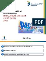 Persiapan Daerah dalam Menghadapi Masyarakat Ekonomi ASEAN 2015