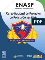 Promotor Policia de Comunitaria SENASP