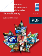 Fraser Institute- The Entertainment Industries, Government Policies, And Canada's National Identity