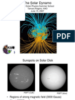 The Solar Dynamo