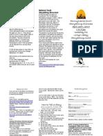 PYSS Entry pamphlet