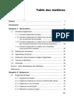 Sommaire Bases de calcul des structures selon l'Eurocode 0