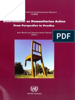 UNIDIR Disarmament as Humanitarian Action - From Perspective to Practice