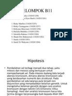 KELOMPOK B11 Blok Biomedik 1
