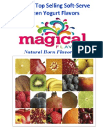 2014 Magical Flavors Info Pricing and Order Form