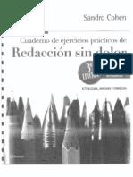 Ejercicios de Redacción sin dolor de Sandro Cohen