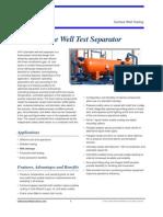 3-Phase Test Separators VVF