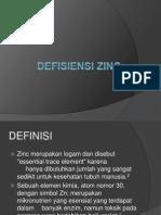Defisiensi Zinc