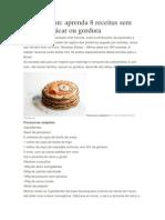 Dieta Dukan - 8 Receitas