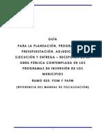 11.Guia Para La Planeacion Programacion Presupuestacion Adjudicacion Ejecucion y Entrega Recepcion de La Obra Publica Contemplada en Los Municipios.desbloqueado